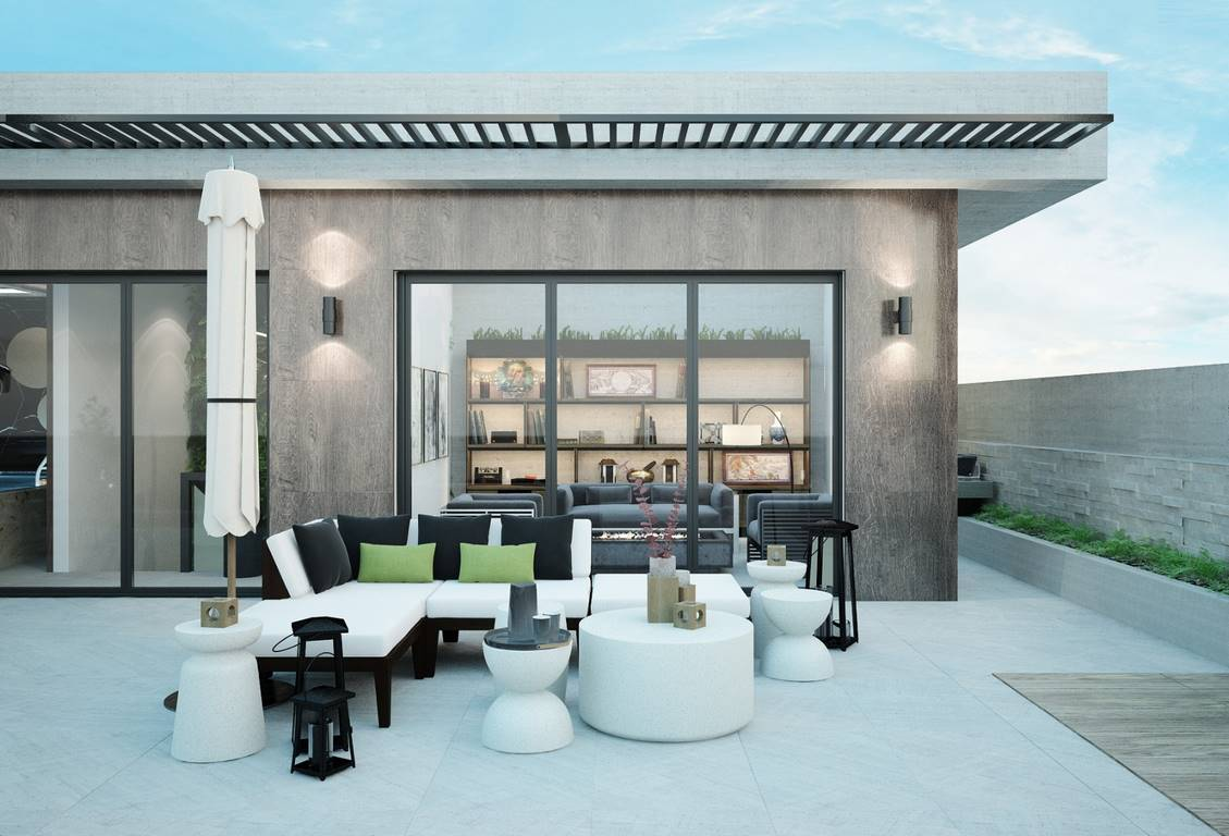 Necef Malikane teras tasarımı