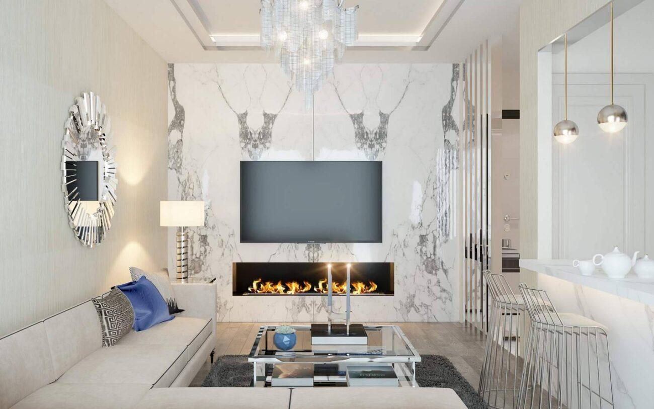 Parl Planet Evleri oturma odası tasarımı