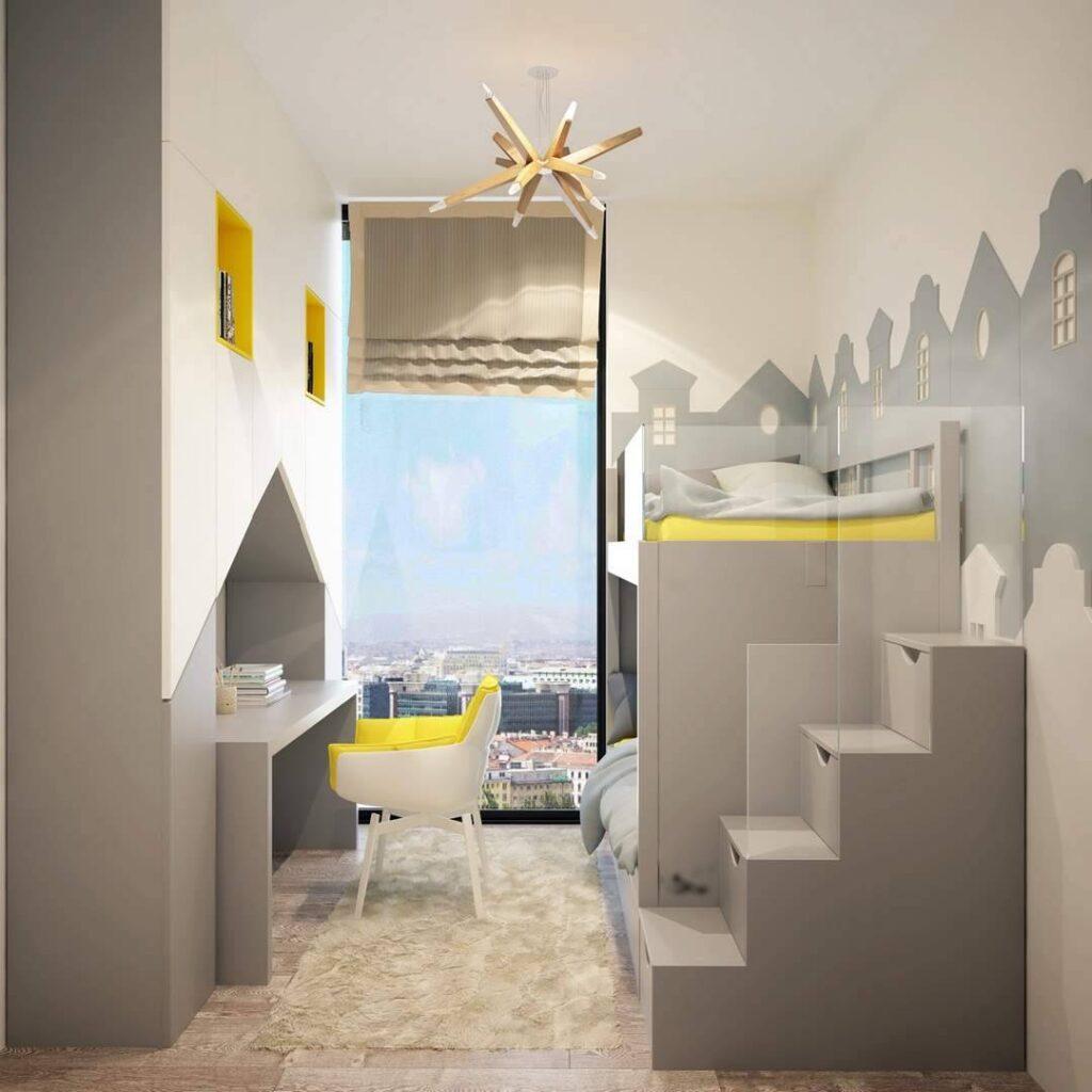 Parl Planet Evleri çocuk odası tasarımı