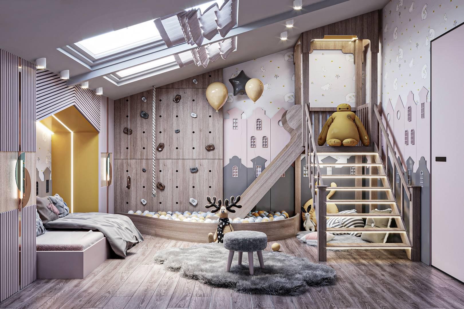 Suadiye daire çocuk odası tasarımı