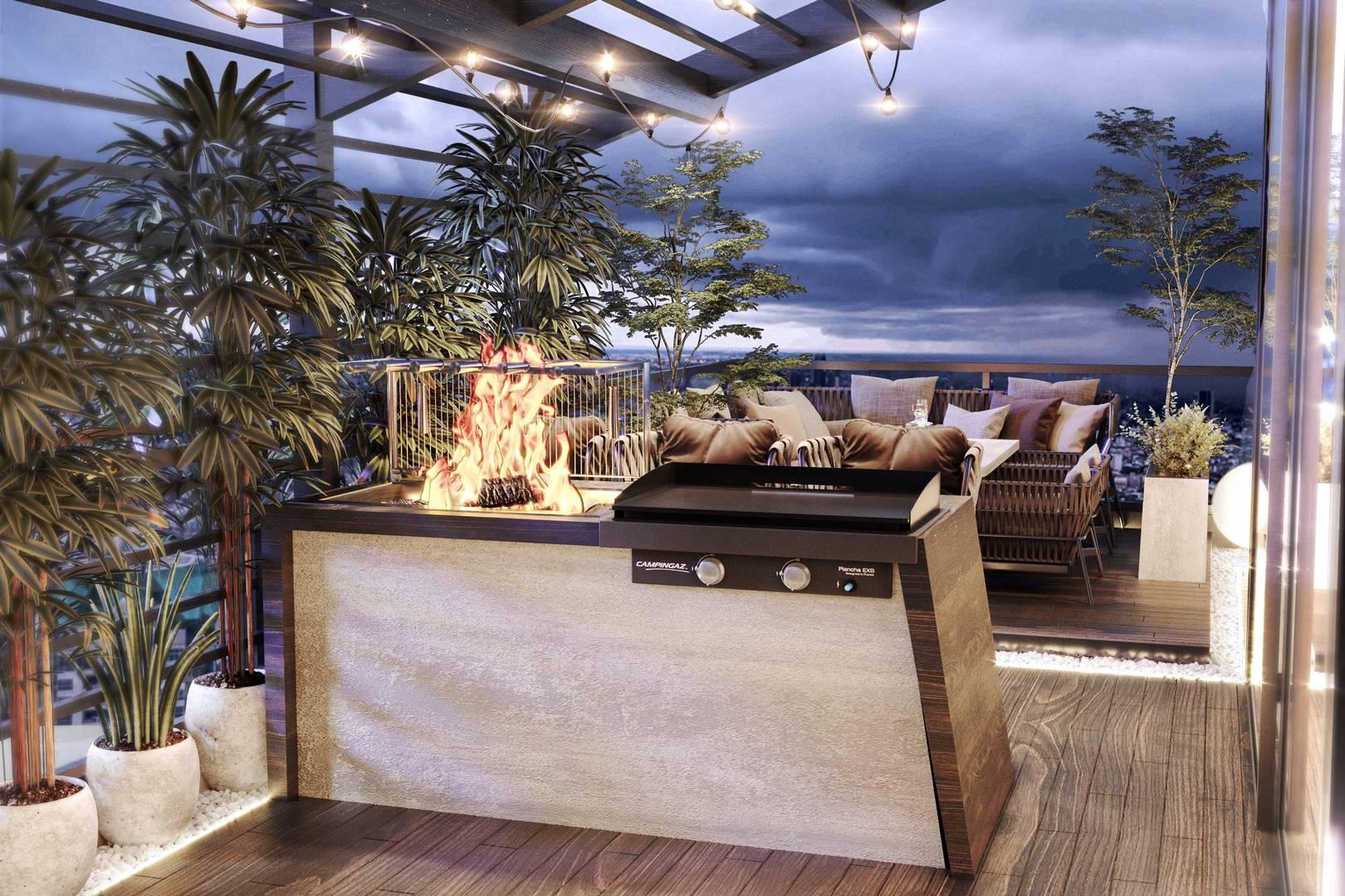 Suadiye Dublex teras düzenlemesi