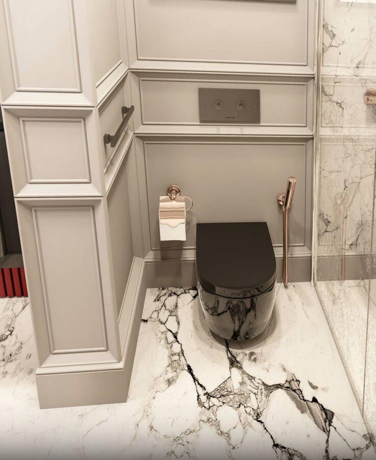 Yeşil Yaka Villaları Banyo tasarımı