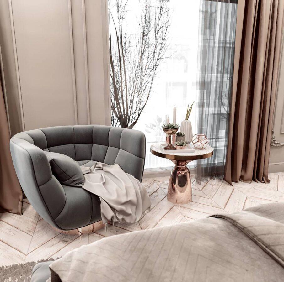 Yeşil Yaka Villaları Yatak Odası Tasarımı
