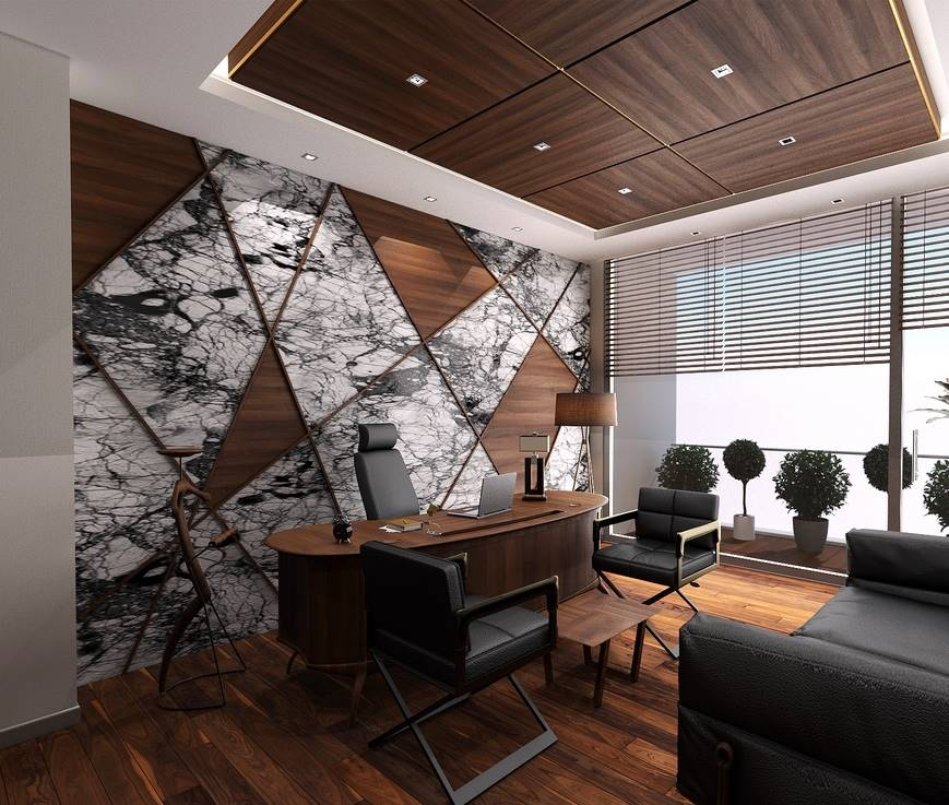 Dap Yapı Ofis Masa Koltuk Tasarımı