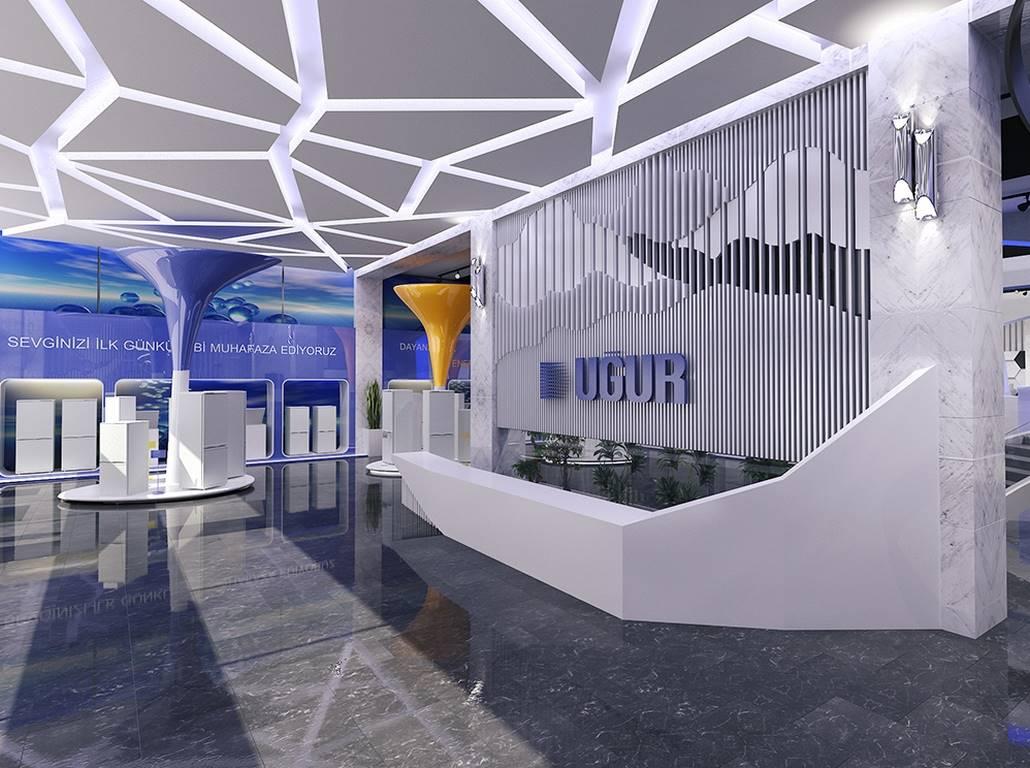Uğur Derin Dondurucu Showroom Stand İstanbul