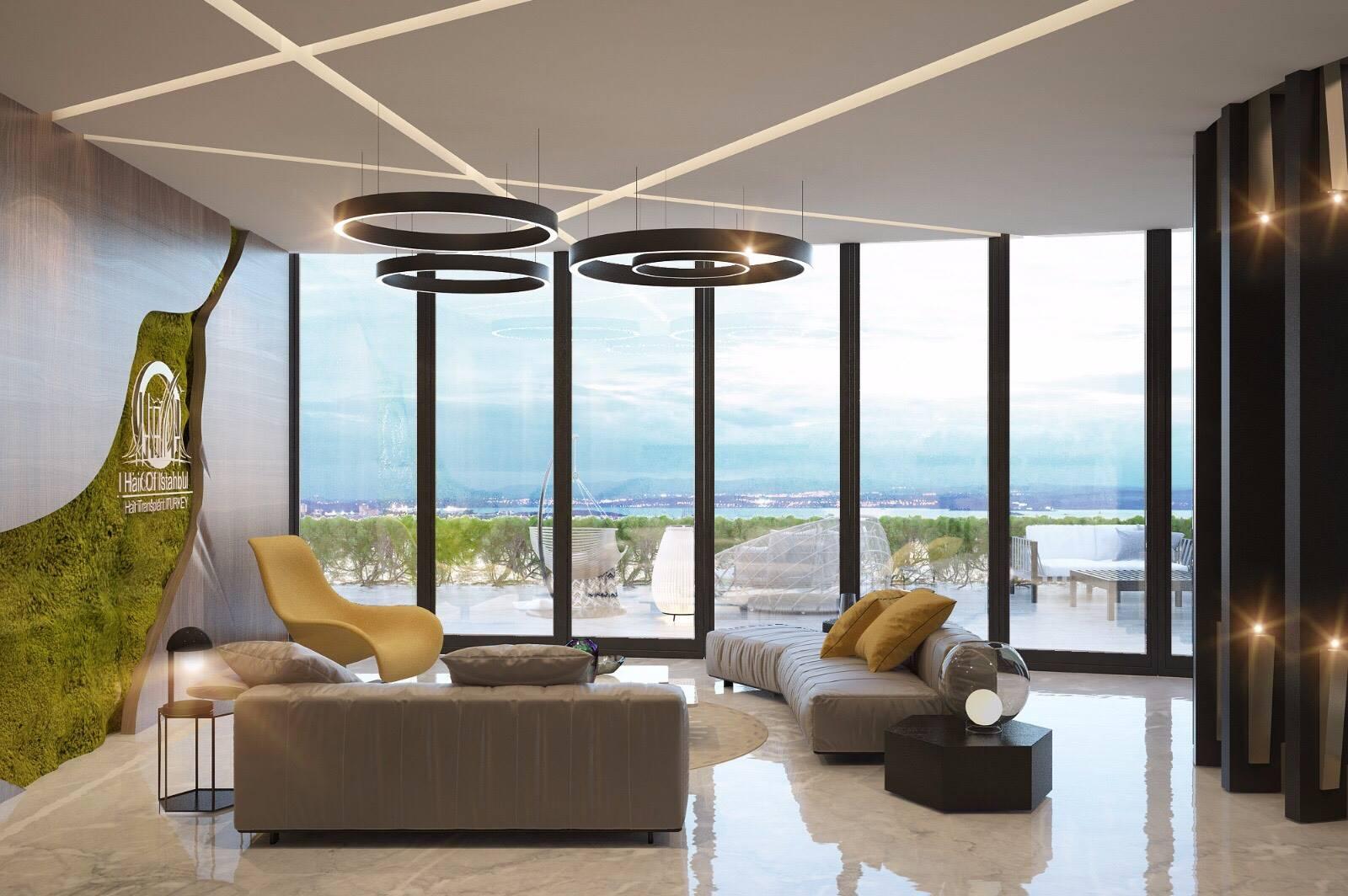 Ataköy Towers ofis oturma grubu tasarımı