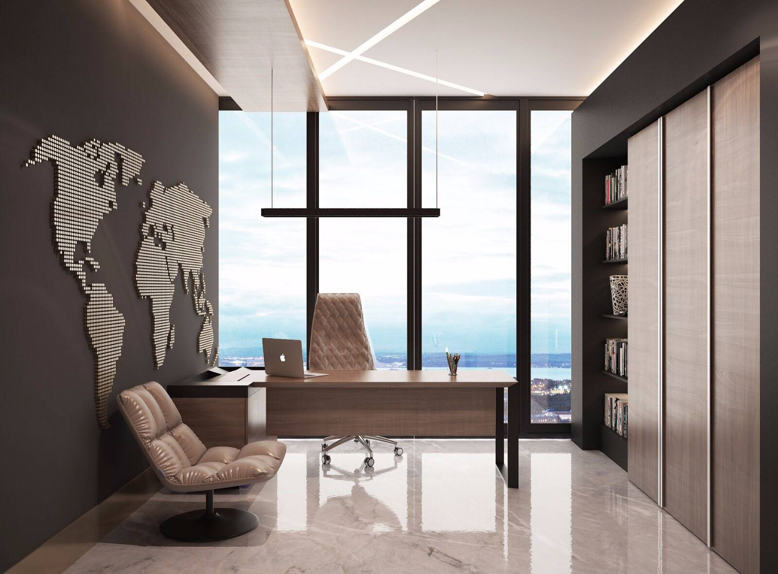 Ataköy Towers ofis iç mimar tasarımı