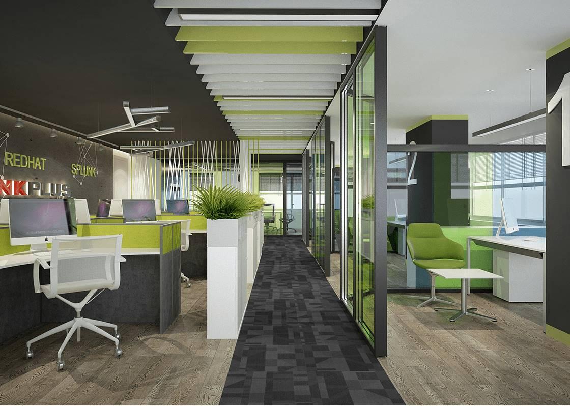 Linkplus Ofis tasarımı iç mimar