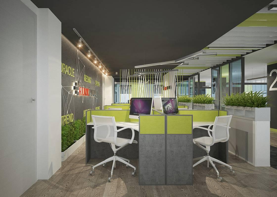 Linkplus İstanbul Ofis çalışma grubu tasarımı