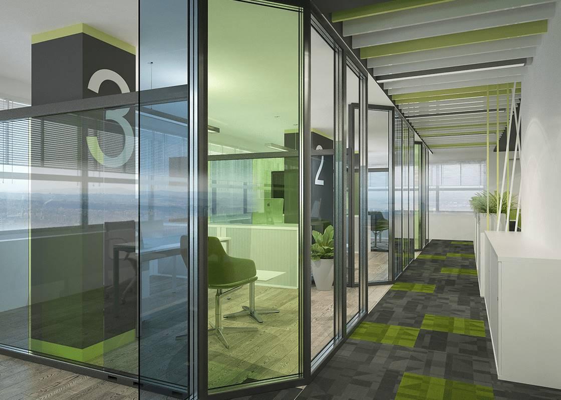 Linkplus Ofis hol tasarımı