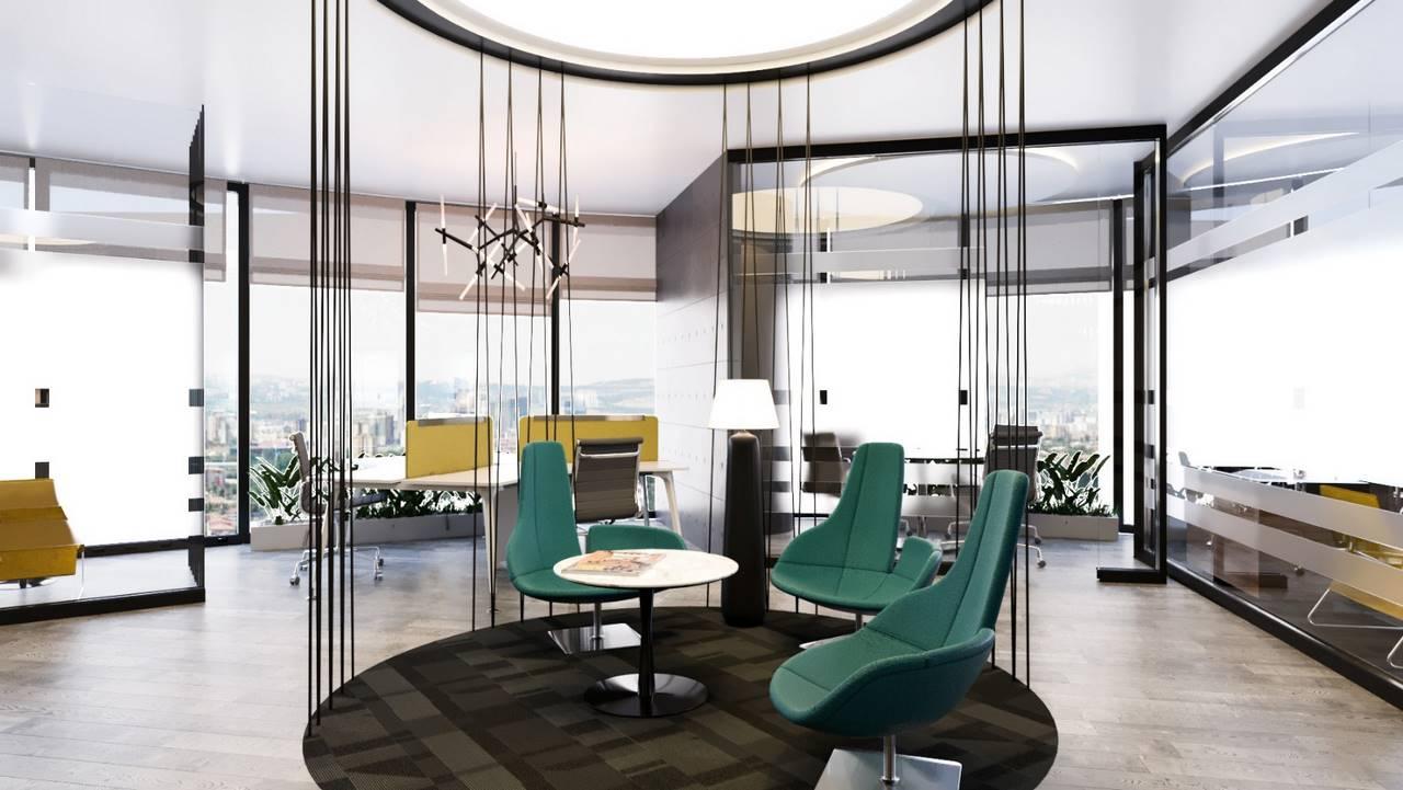 Linkplus Ofis iç mimari tasarımı