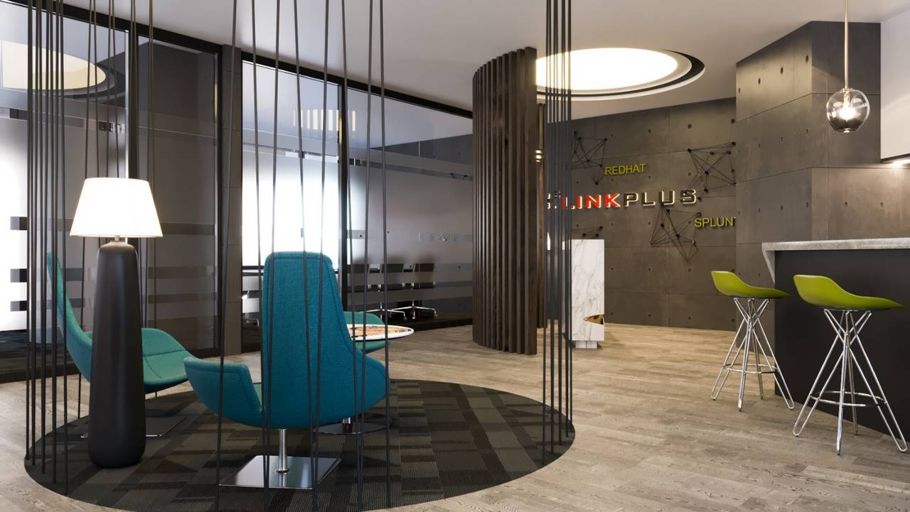 Linkplus Ofis dekorasyonu