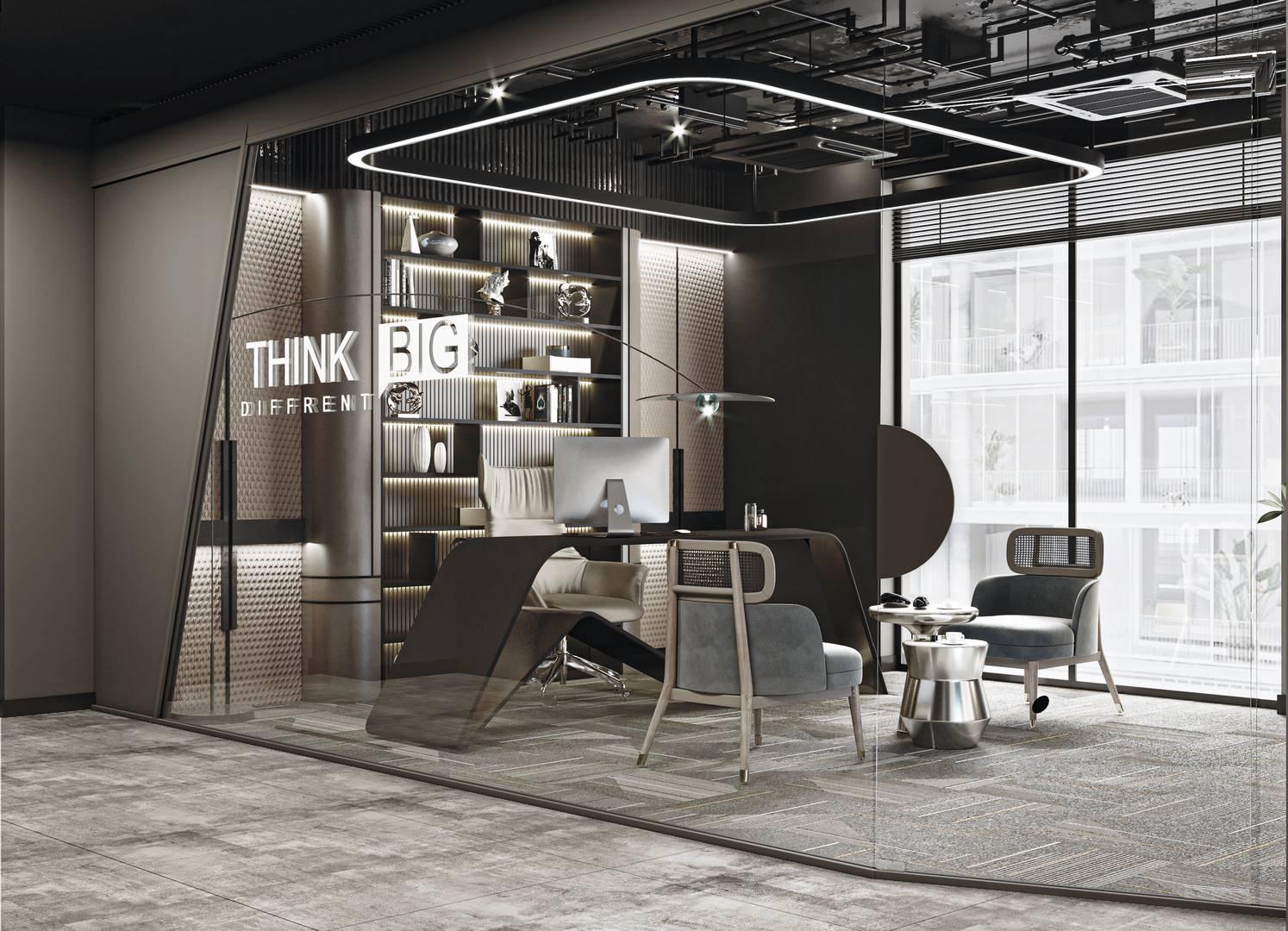 türkmenler socks ofis tasarımı