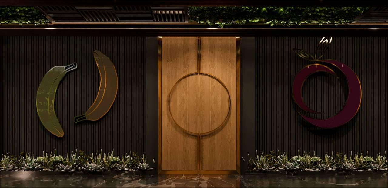 Verita Ofis giriş tasarımı