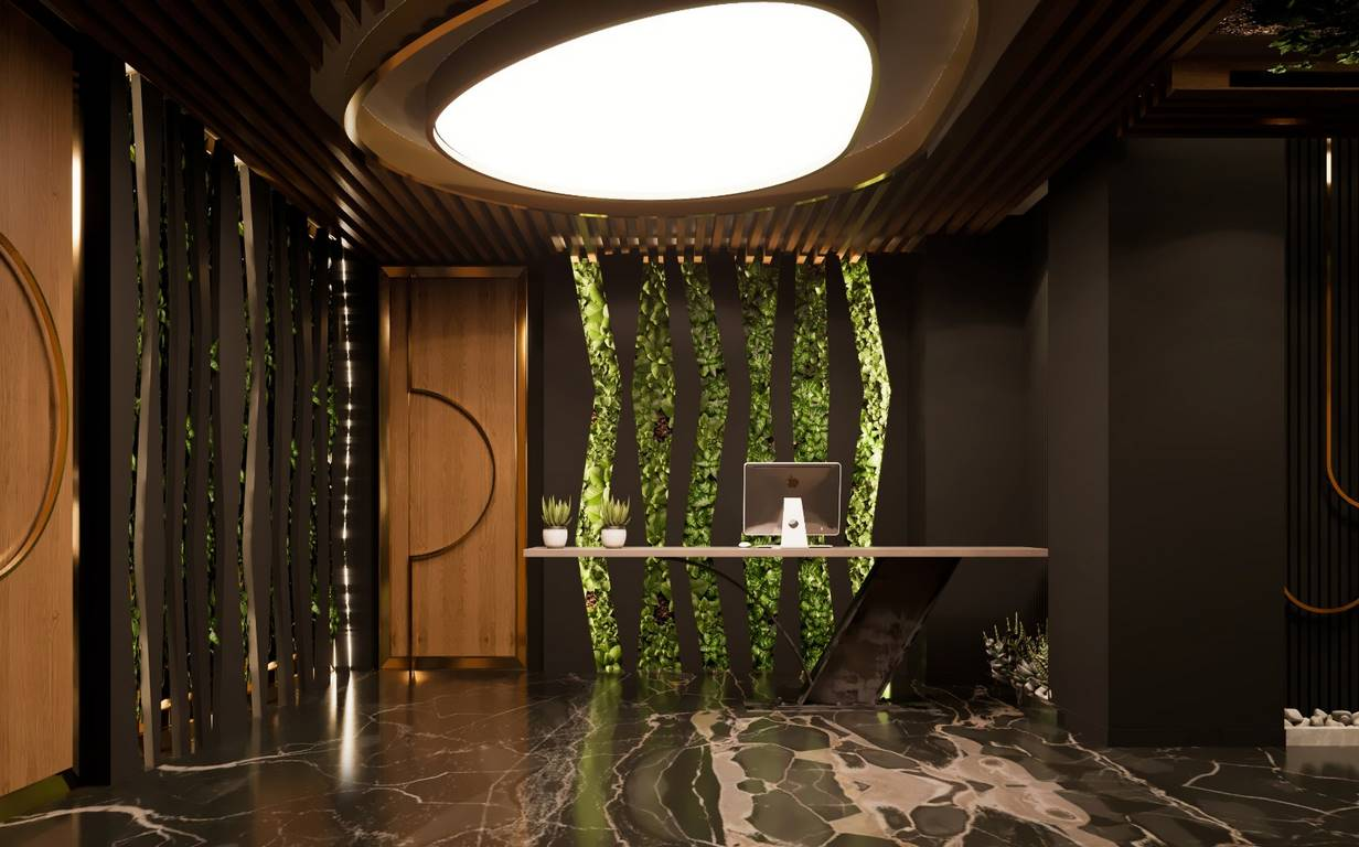 Verita Ofis hol tasarımı