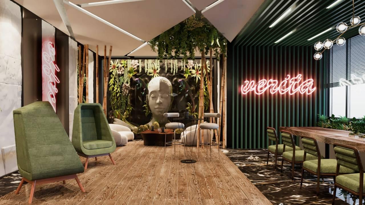 Verita Ofis salon tasarımı