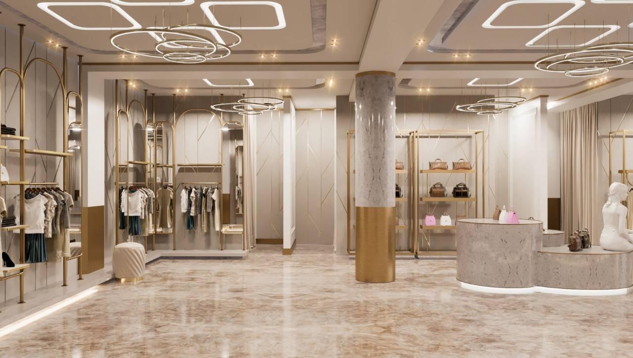 Irak Mağaza reyon tasarımı