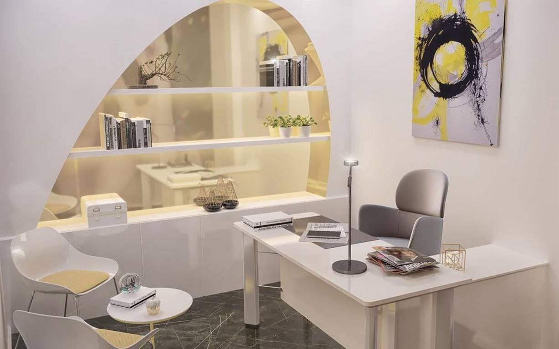 İstinye Optik Mağazası iç mekan tasarımı