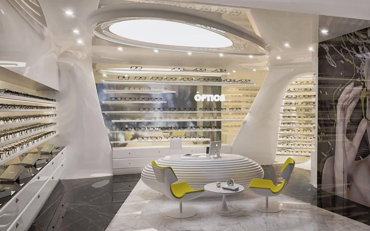 İstinye Optik Mağazası tasarımı