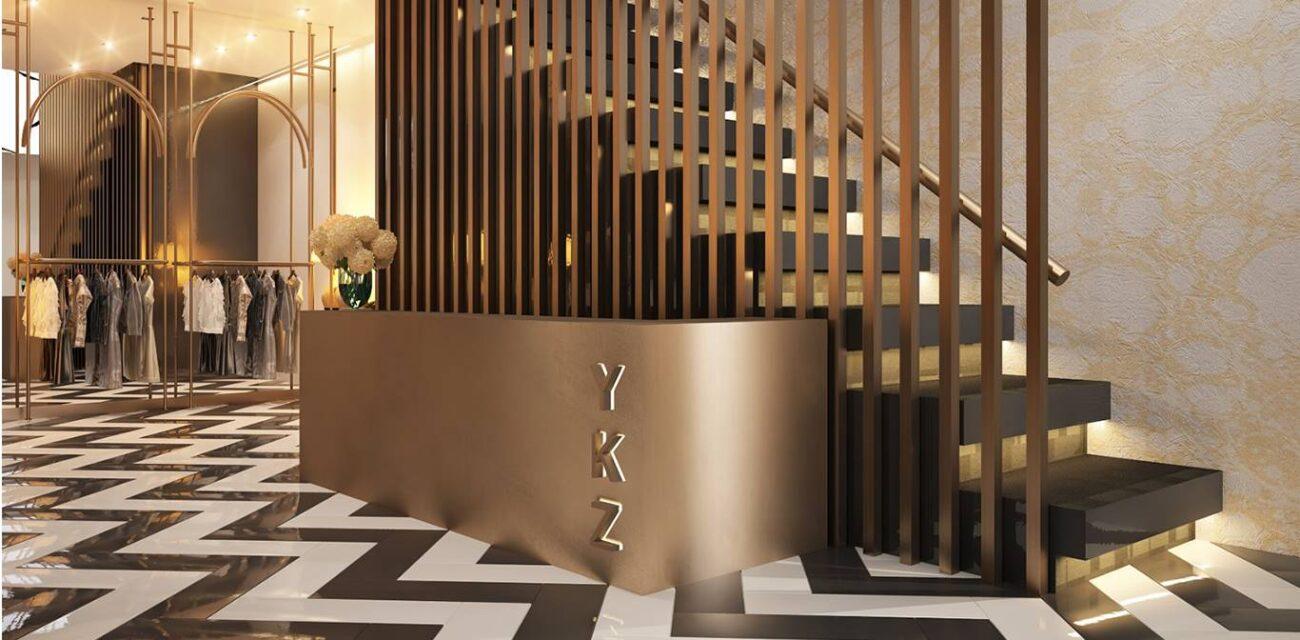 Ykz Ceylan Mağaza tasarımı lobi