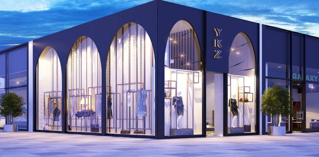 Ykz Ceylan Mağaza tasarımı dış cephe
