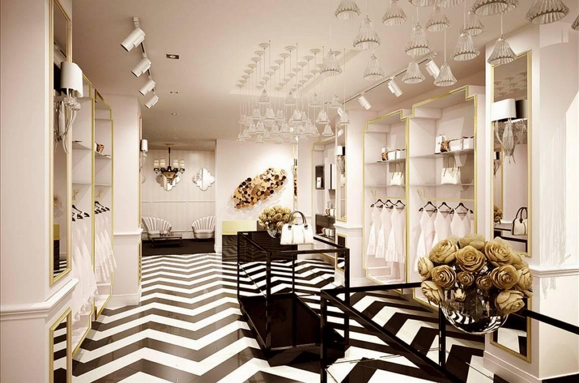 Ykz Ceylan Mağaza iç mekan tasarımı